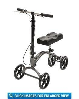 Quality Drive Medical DV8 Steerable Knee Walker for sale