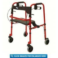"Invacare Rollite Rollator with 5"" Wheels -- Electric Red Manufactures"