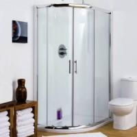 China BestBathrooms Offset Quadrant Shower Enclosure 900mm x 760mm on sale
