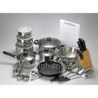 China Cookware 34 pcs Cookware set on sale
