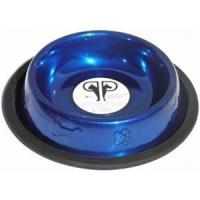 Paw & Bone Stainless Steel Embossed Non-Tip Puppy Dog Bowl Manufactures