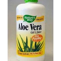 China Aloe Vera Gel & Juice 1 ltr Nature's Way on sale
