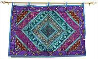 Indian Patchwork Wall Hanging Large Manufactures