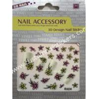 Buy cheap Customized pretty Eco - friendly material and nontoxic girls fingers 2d nail stickers from wholesalers