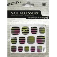Buy cheap Eco - friendly material beauty 2d nail stickers easy remove for Nail Art decoration from wholesalers