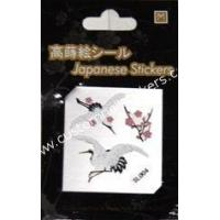 China JAPNESE STYLE stickers Crane Design for Mobile cell phone decoration, Kids DIY playing on sale