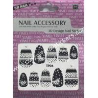 Buy cheap Eco - friendly ink and glue beauty girls finger 2d nail stickers funky nail polish designs from wholesalers