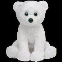 "Ty Beanie Babies 8"" Igloo Polar Bear Manufactures"