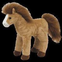 "Ty Beanie Babies 8"" Tornado Horse Manufactures"