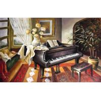 Buy cheap indoor scene oil paintings from wholesalers