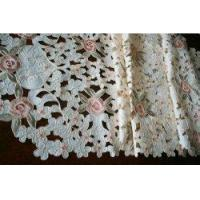 China Gorgeous Embroidery/Cutwork Roses table runner wholesale