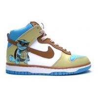China Squirtle Nike Dunks Hightops Shoes For Men on sale