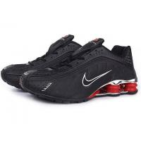 Nike Shox R4 men shoes black/red Manufactures