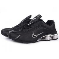 Nike Shox R4 men shoes black/white Manufactures
