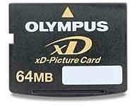 Olympus 64mb xD Picture Card Manufactures