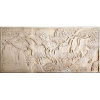 White marble sculpture Sandstone anaglyph JX-016 Manufactures