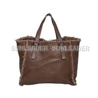 China 101111-Oversized leather tote bag on sale