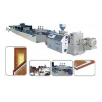 PVC wood-plastic foam sheet/board/plate extrusion line Manufactures