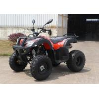 Buy cheap Red Off Road CVT 150CC ATV Hydraulic Brake On Forest Road , Chain Drive from wholesalers