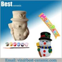Buy cheap Ceramic DIY craft diy ceramic christmas decorations from wholesalers
