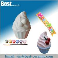 Buy cheap Ceramic DIY craft diy ceramic painting from wholesalers