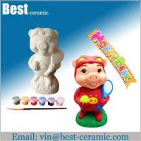 Buy cheap Ceramic DIY craft diy ceramic piggy bank from wholesalers