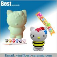 Buy cheap Ceramic DIY craft diy ceramic money bank from wholesalers