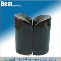 Ceramic salt&pepper shaker ceramic salt and pepper pots Manufactures