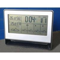 China Five Days Weather Forecast LCD Clock With DCF Radio Controlled Function on sale