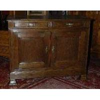 French Antique Louis-Philippe 2-door Sideboard Manufactures