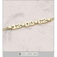 14K Gold Plated Anniversary Bracelet Manufactures