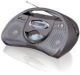 China GPX Portable CD Player with AM/FM Radio, Line in for MP3 Devices and Remote Control (Black) on sale