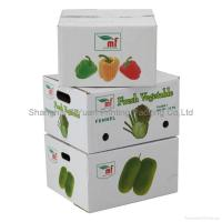 China Fruit Corrugated Packaging Carton Boxes wholesale