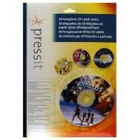 PressIt A4 Photogloss CD Label (30) Manufactures