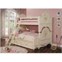 China   Princess Bunk Bed w/ Trundle on sale