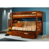 China | Twin Stairway Futon Bunk Bed on sale