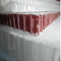 recycled plastic honeycomb core for table bases Manufactures