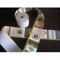 Buy cheap cash printer rolls and label adhesive rolls , thermal ATM cash register paper roll from wholesalers