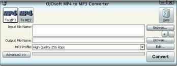 Quality OJOsoft MP4 to MP3 Converter for sale