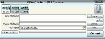 Quality OJOsoft M4A to MP3 Converter for sale