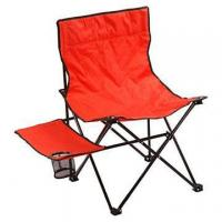 China CAMPING CHAIR 123004: Camping chair with side table on sale