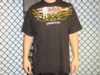 China MMA Competitor T-Shirt Black with GB Flag on sale