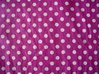 100% Cotton Fabric Cotton Poplin Dot Fabric Manufactures