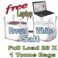 Offers with Free Gifts 28x 1 Tonne bags of Rock Salt with Free Gift Manufactures