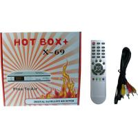 Middle east Digital Satellite Receiver HOT BOX+ X-69 Manufactures