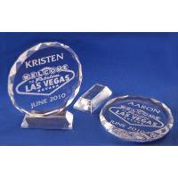 China Las Vegas Personalized Crystals Laser Engraved Keepsakes on sale