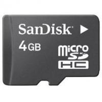 SanDisk 4GB microSD Card Manufactures