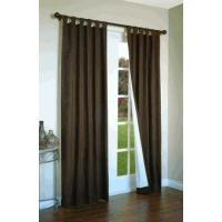 China Weathermate Solid Color Insulated Curtains with Tab Tops on sale