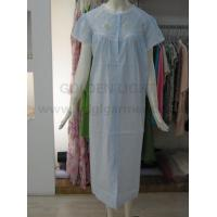 Buy cheap 210 embroideried cotton nightdress from wholesalers