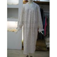 Buy cheap 205 ladies floral print cotton house coat from wholesalers